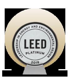 LEED Platinum in Commercial Interior Retail -Restaurant/Cafeteria